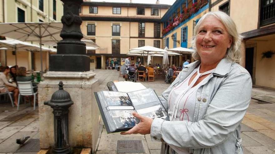 Fallece la comerciante Laura Pérez, alma y memoria del barrio del Fontán