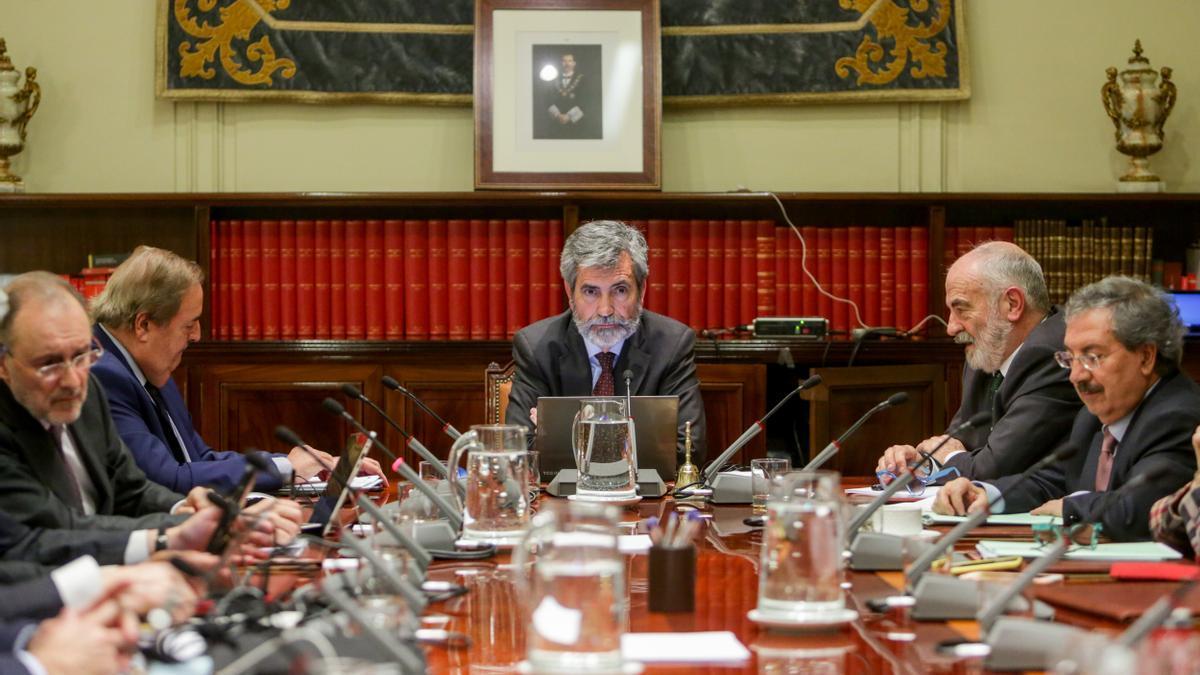 Pleno del Consejo General del Poder Judicial