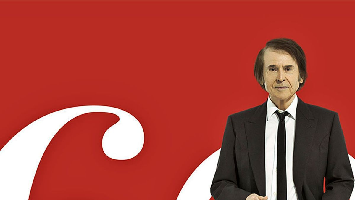 Raphael, en una imagen de promoción de su nueva gira.