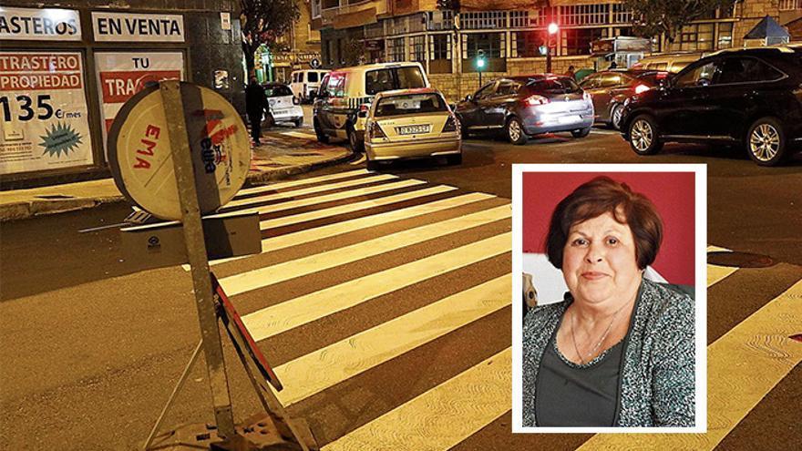 Muere una mujer de 75 años tras ser golpeada por el retrovisor de una furgoneta