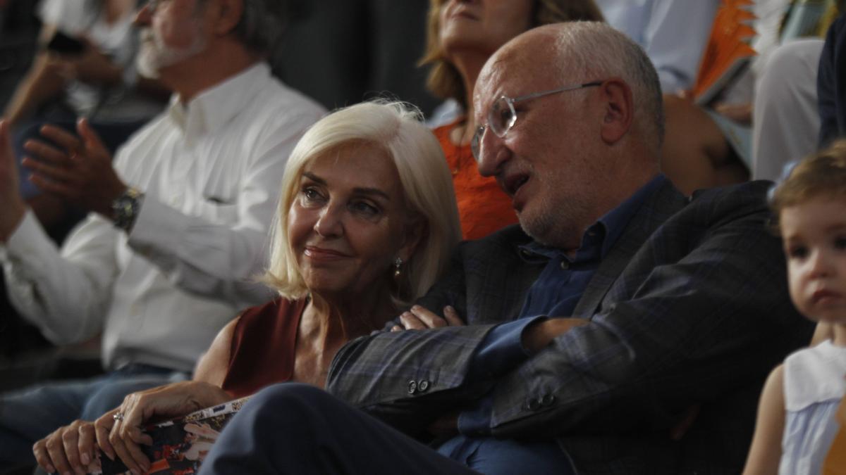 Hortensia Herrero y Juan Roig en una imagen de archivo.
