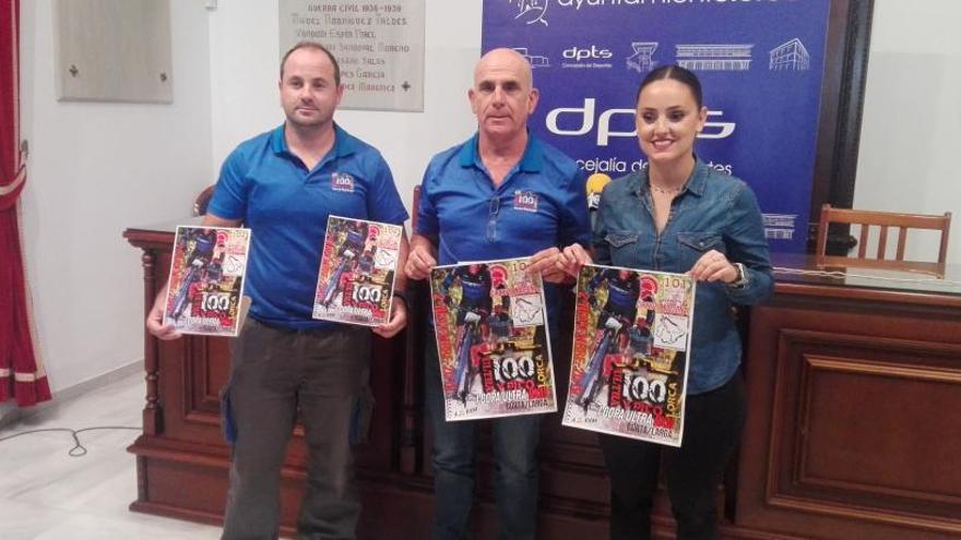 La Marcha Ultra BXM 100 y Pico de Lorca espera 500 participantes