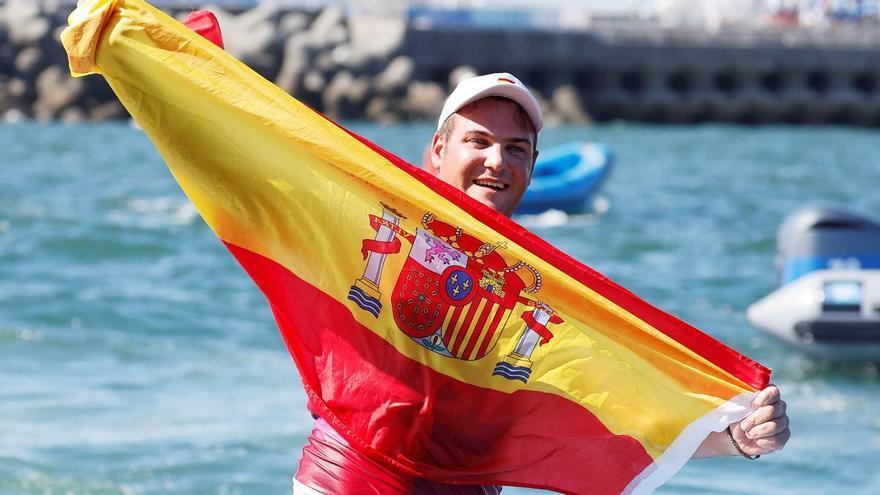 Joan Cardona, Premio Nacional de Vela como mejor regatista olímpico