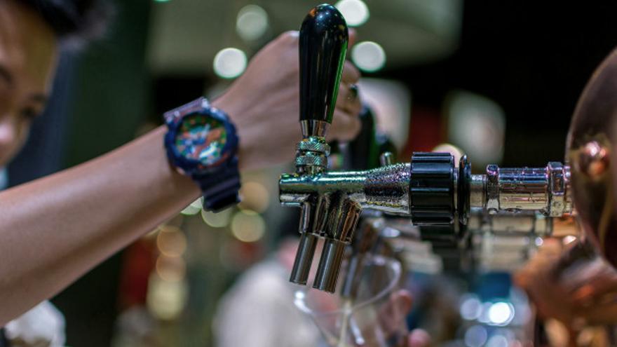Atraco en una cervecería de Arrecife