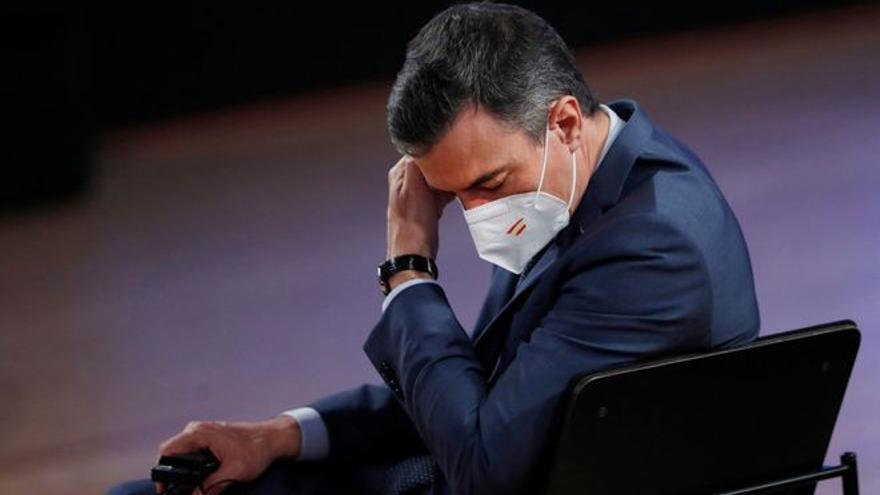 Pedro Sánchez posa data a la immunitat de grup