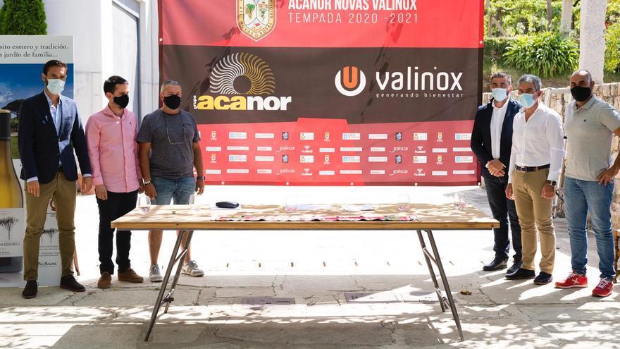 Acanor y Valinox seguirán siendo los principales patrocinadores del Atlético Novás