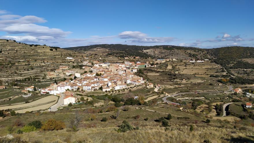 Portell de Morella: Territorio de cereales y parameras