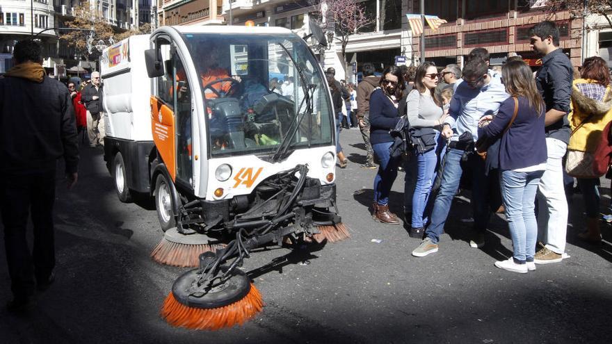 Las máquinas barredoras aumentan la contaminación