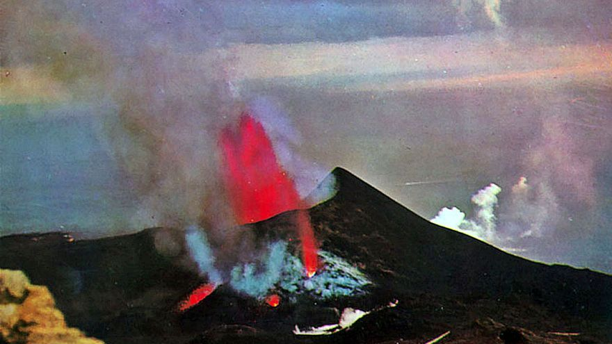 50 años de la erupción del volcán Teneguía