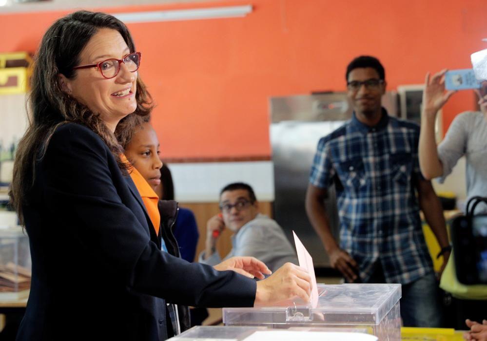 Los candidatos a la Presidencia de la Generalitat Valenciana votan en el 28A