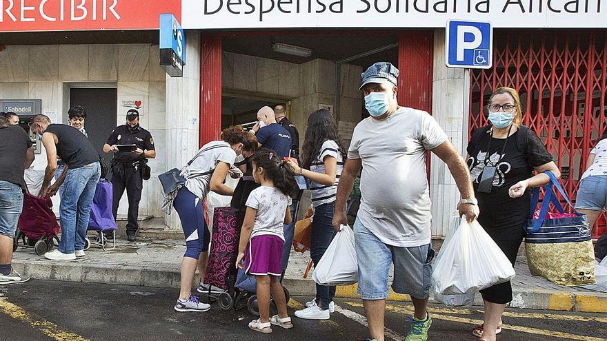 Erradicar el hambre de Alicante
