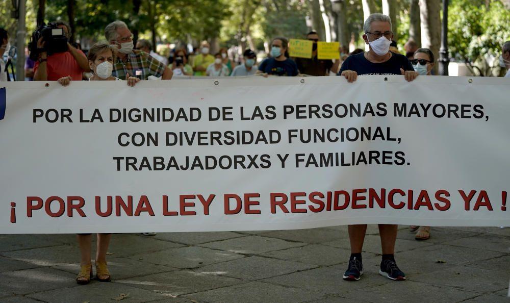 Restricciones y protestas en Madrid