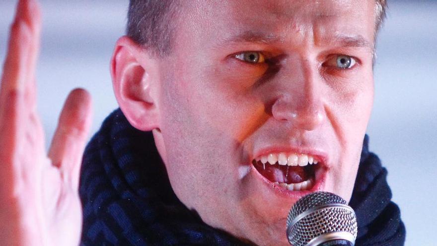 La Justicia rusa impone a Navalni 30 días de prisión preventiva