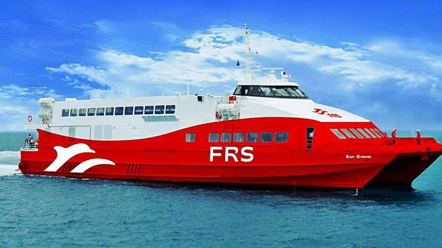 La naviera alemana FRS conectará Ibiza y Formentera desde junio