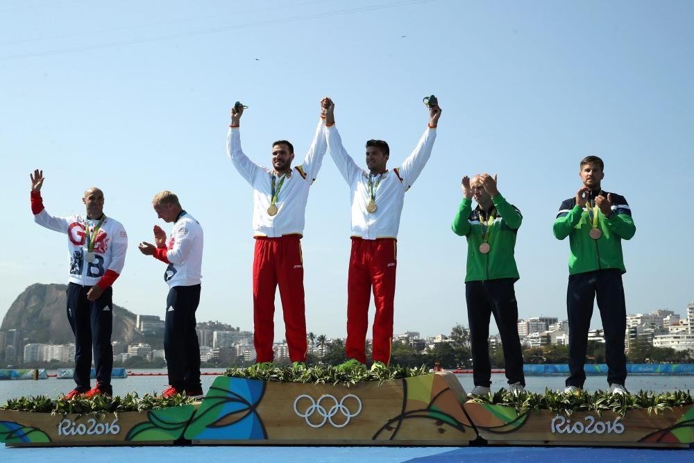 Craviotto y Toro: Oro en kayak 200m dobles