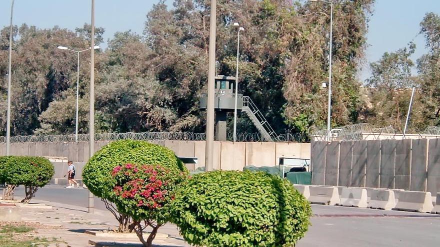 Un herido en un ataque con ocho cohetes a la embajada de EEUU en Irak