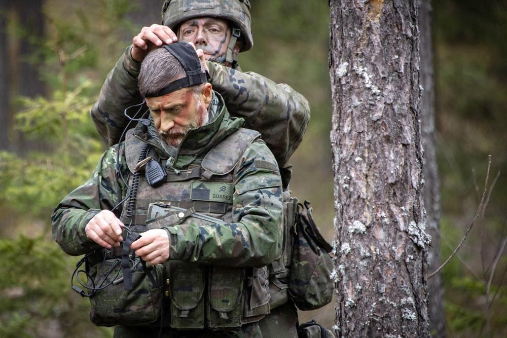 Militares de la Bri X de Cerro Muriano en misión de la OTAN en Letonia