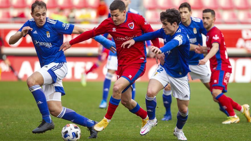 El Vetusta se la pega: derrota del filial del Real Oviedo por 4-1 en el campo del Numancia