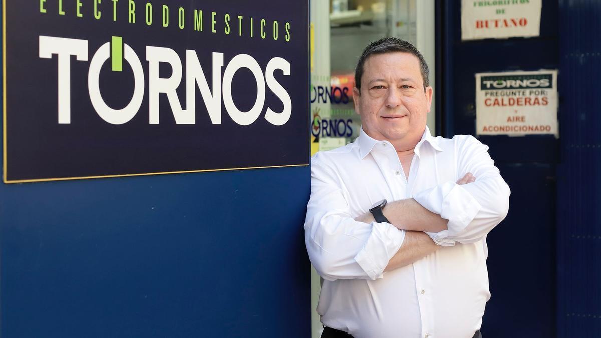 Antonio Tornos Camacho, nuevo presidente de la Federación de Empresarios de Comercio y Servicios de Zaragoza.