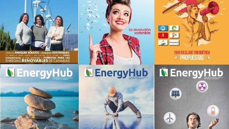 La Provincia/Diario de Las Palmas y El Día suman la información de EnergyHub a sus contenidos