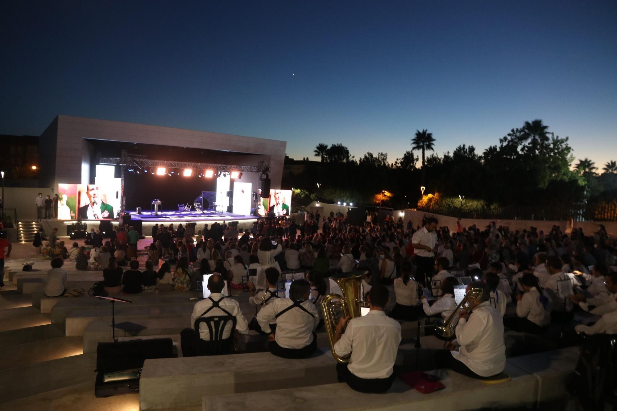 Inauguración del nuevo auditorio de Rincón de la Victoria