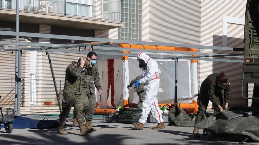 Vox Elche denuncia que en la residencia de Altabix se han superado los cien contagios