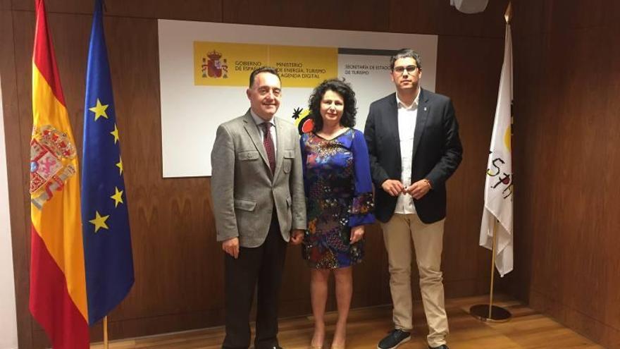 Morella y Gobierno pactan el inicio de las obras del parador en el 2018