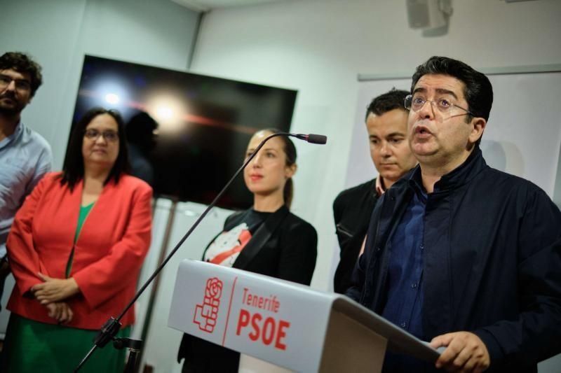 Los socialistas celebran el resultado del 10N