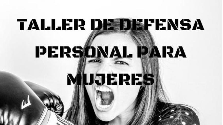 Taller gratuito de defensa personal para mujeres