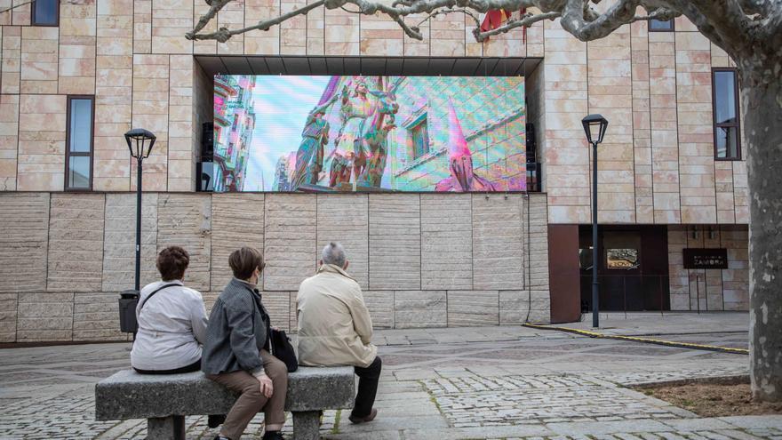 La Diputación de Zamora mantendrá la pantalla de Viriato durante la Semana Santa