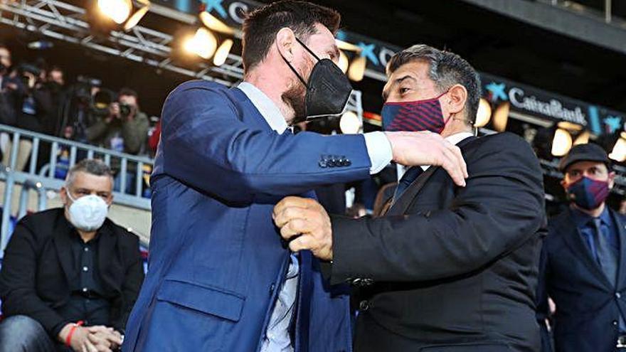 Acord total Barça-Messi
