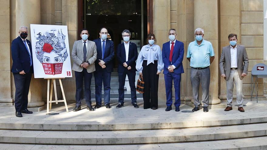 La Feria del Libro de Murcia vuelve con fuerza a la presencialidad
