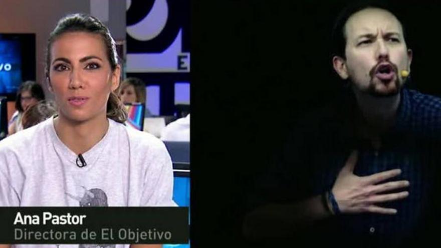 "Ana Pastor, a Pablo Iglesias: ""No me ha visto nunca enfadada"""