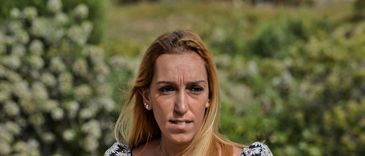 Minerva Ascanio, víctima de cáncer de colon.