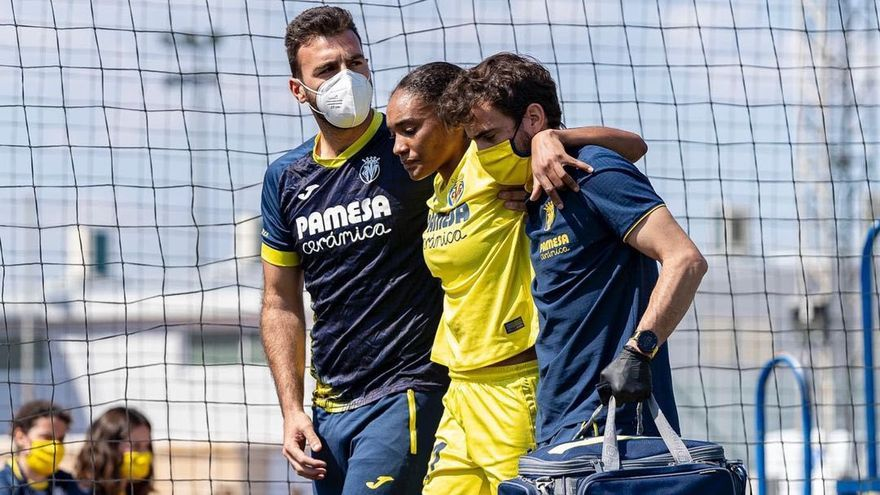 Salma Paralluelo empieza a correr tras su operación