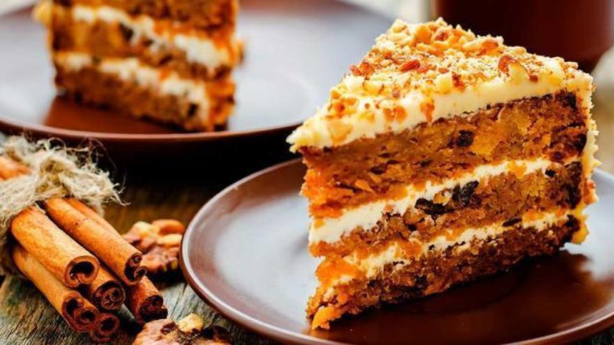 La tarta de zanahoria que está de moda y que puedes preparar en menos de tres minutos