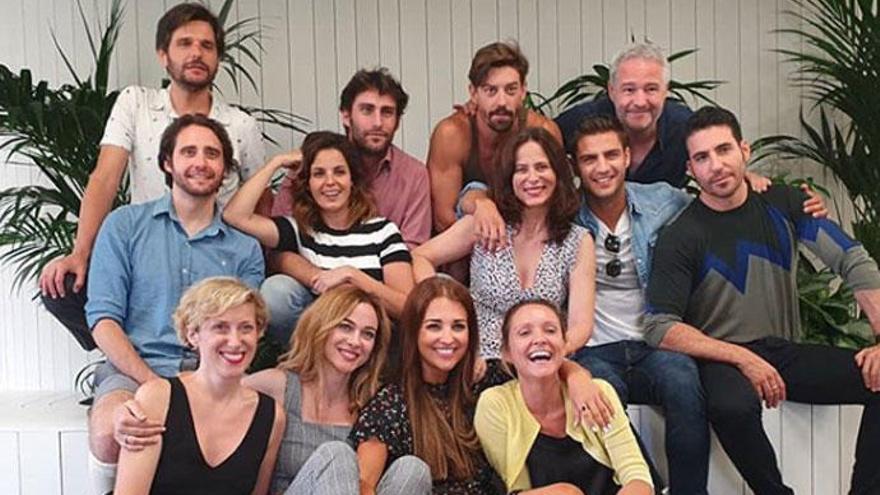 Los actores de 'Velvet Colección' se reúnen por última vez