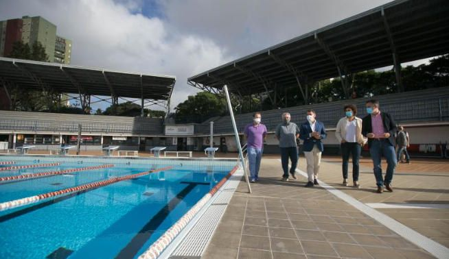 La piscina Arcidalio Lorenzo reabre sus puertas.