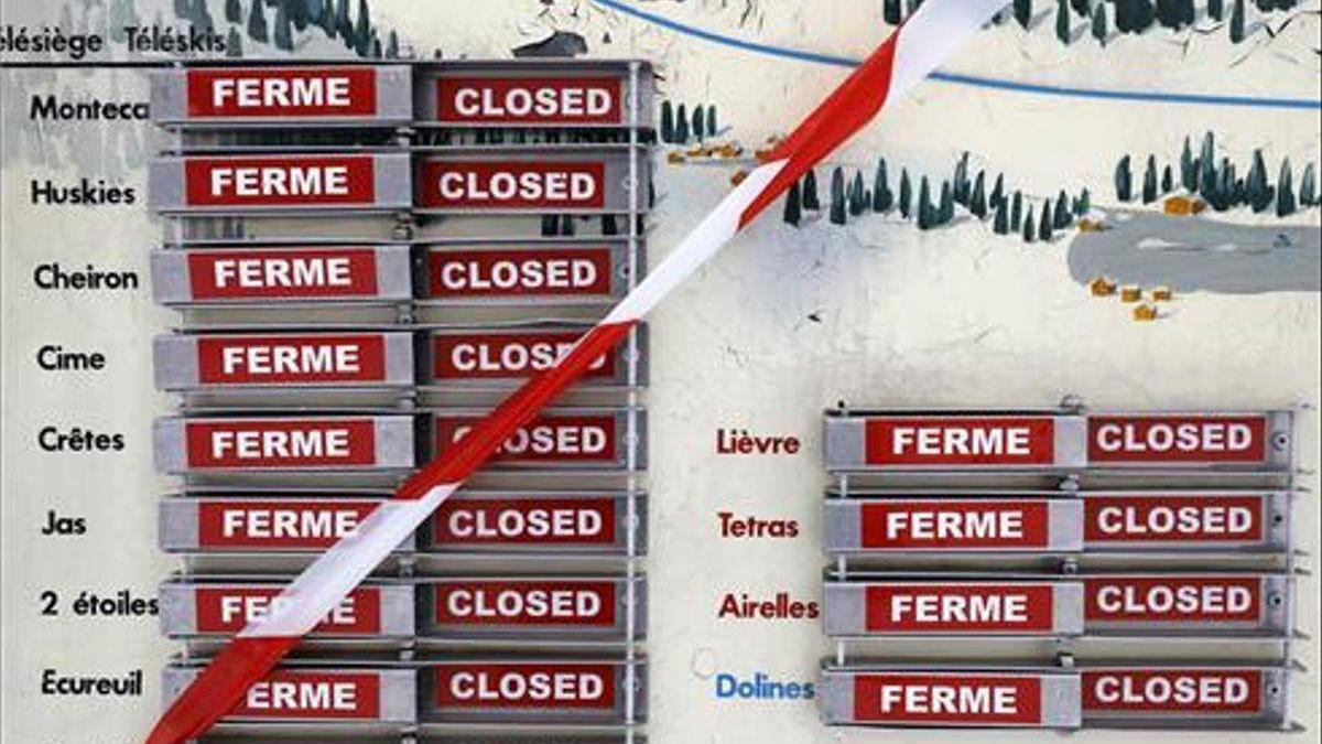 El Gobierno francés mantiene cerradas las estaciones de esquí