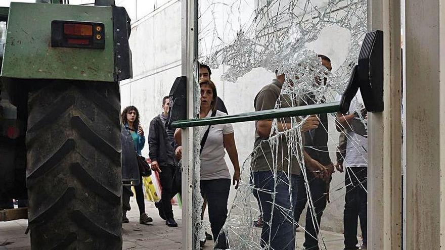 El jutjat rebutja que l'Estat pagui els danys al pavelló de Sant Julià de Ramis per l'1-O