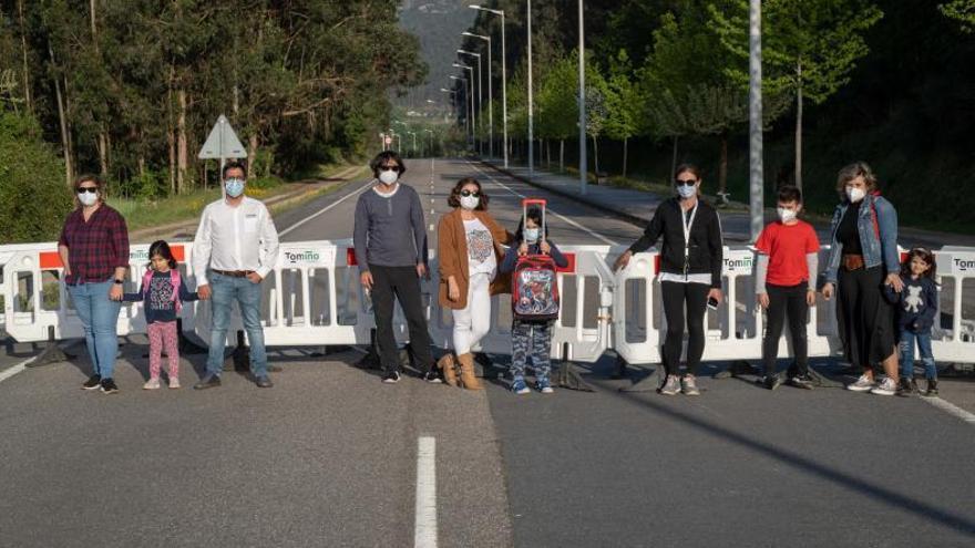 Decenas de niños de Tomiño no pueden ir a clase en Portugal por el cierre fronterizo