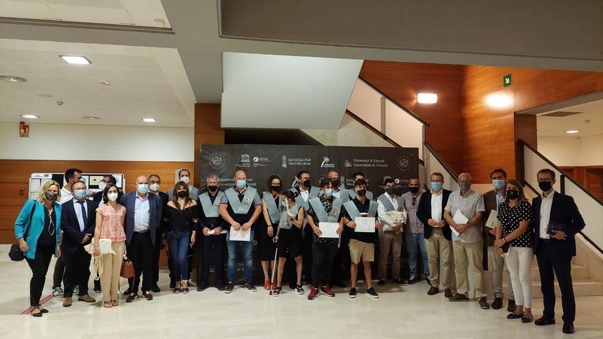 La UA gradúa a la tercera promoción del máster de Arroces y Alta Cocina Mediterránea