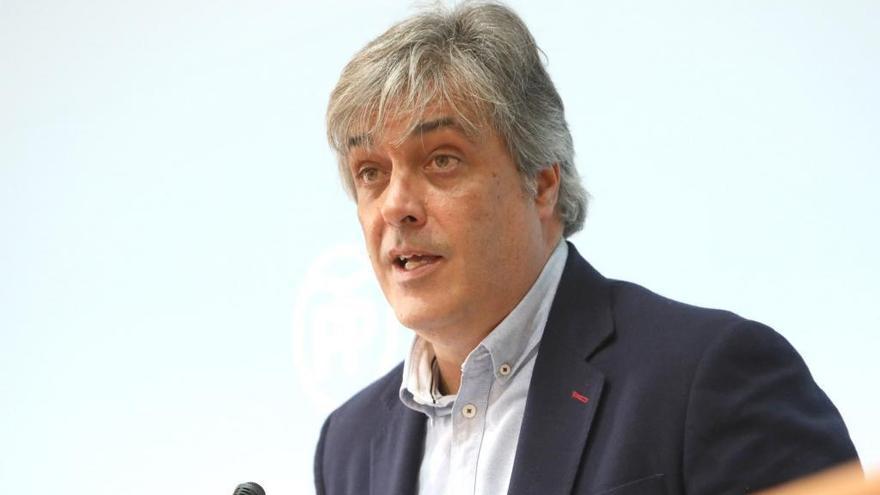 """Pedro Puy loa un discurso """"optimista"""" basado """"en la realidad de los hechos"""""""