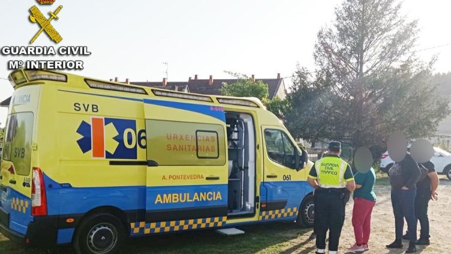 La Guardia Civil salva a un hombre que se desplomó cuando hacía footing