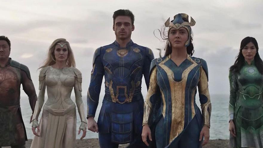 Marvel publica el nuevo tráiler   de 'Eternals', filmada en Canarias