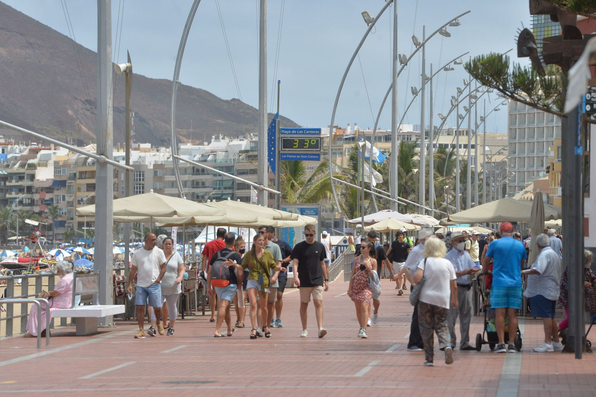Tiempo en Gran Canaria (09/09/2021)
