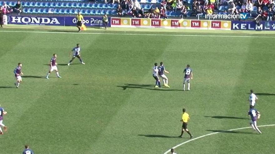 El Hércules acumula cuatro jornadas consecutivas sin marcar
