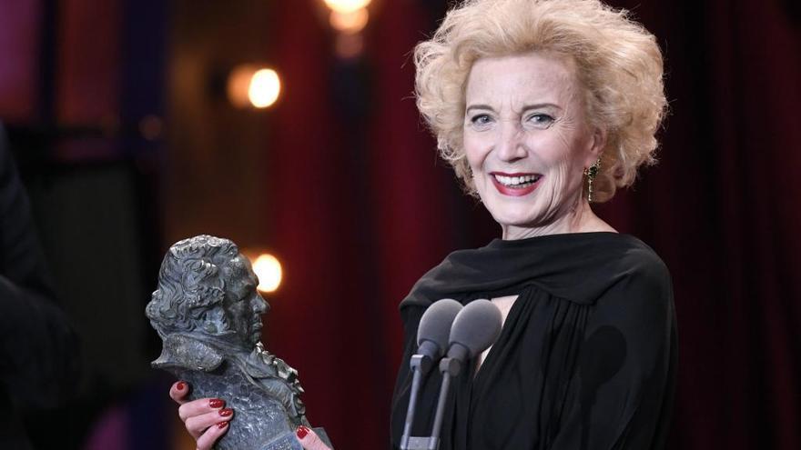 "Marisa Paredes, Goya de Honor, afirma que volvería a ""repetir"" el discurso del 'No a la guerra'"