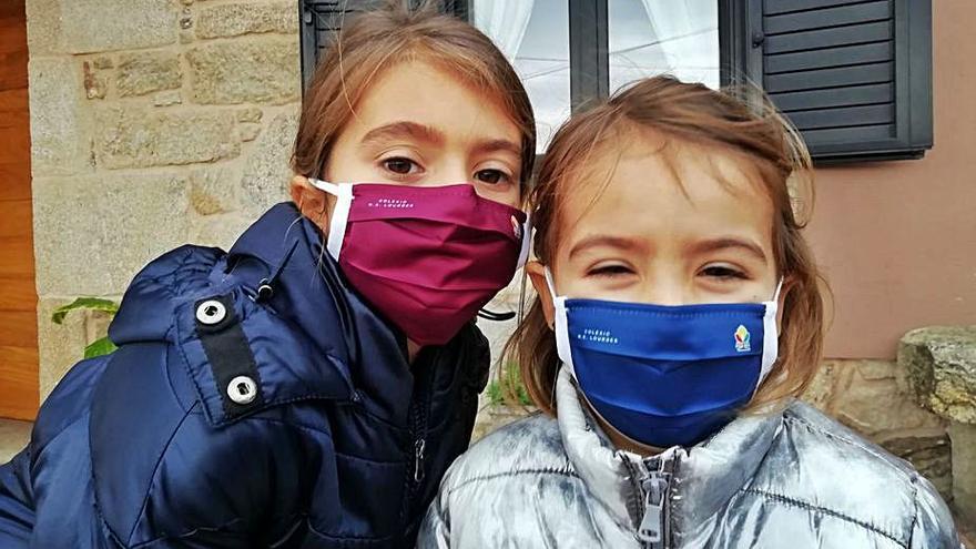 La ANPA de Lourdes dota a sus socios de mascarillas