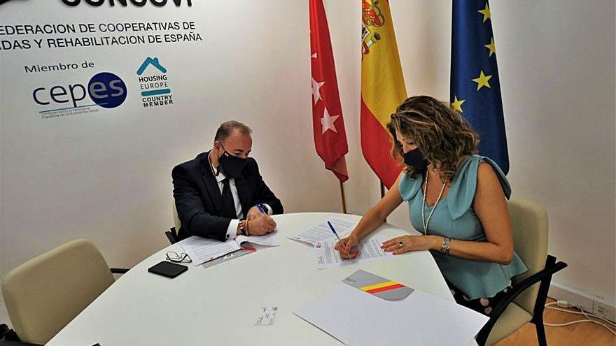 Alianza para luchar por el acceso a una vivienda digna y de gestión cooperativa